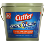 Cutter Candle, Repels Mosquitoes