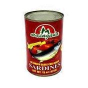 Masagana Sardines In Tomato Sauce Chili Added