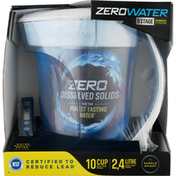 ZeroWater Water Pitcher, Ready-Pour, 10 Cup