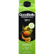 GoodBelly Juice Drink, Organic, Tropical Green