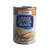 Meijer Large Butter Beans