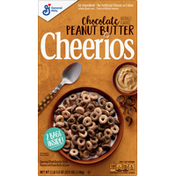 Cheerios Cereal, Whole Grain Oat, Sweetened, Chocolate Peanut Butter