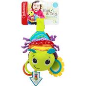 Infantino Toy, Musical Bug, Hug & Tug, 0+ Months