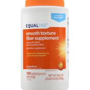 Equaline Fiber Supplement, Orange Flavor, Smooth Texture
