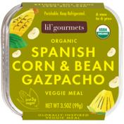Lil' Gourmets Spanish Corn & Bean Gazpacho Organic Veggie Meal