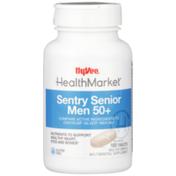 Hy-Vee Healthmarket, Sentry Senior Men 50+ Nutrients To Support Healthy Heart, Eyes And Bones Multivitamin & Multimineral Supplement Tablets