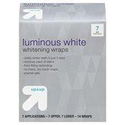 Up&Up Whitening Wraps, Luminous White