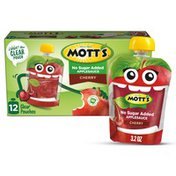 Mott's Unsweetened Apple Sauce, Cherry
