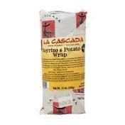 La Cascada Soyrizo and Potato Wrap