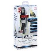 Wahl Vacuum Trimmer, Lithium Ion