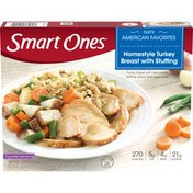 Smart Ones Homestyle Turkey Breast with Stuffing, Gravy & Vegetables Frozen Meal