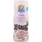O Organics Puffs, Organic, Purple Carrot & Blueberry
