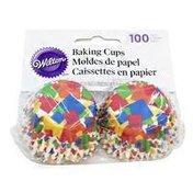 Wilton Geometric Confetti Mini Baking Cups