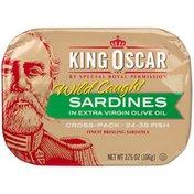 King Oscar Sardines in Olive Oil