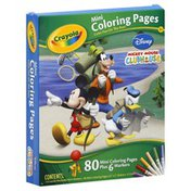 Crayola Coloring Pages, Mini, Disney Mickey Mouse Clubhouse