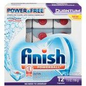 Finish Powerball Quantum Power & Free Automatic Dishwasher Detergent