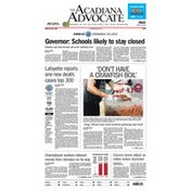 The Acadiana Advocate Friday Newspaper