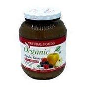 Natura Foods Organic Applesauce with Berries