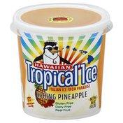 Hawaiian Tropical Ice Italian Ice, Li Hing Pineapple