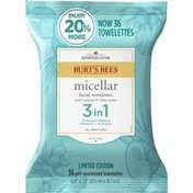 Burt's Bees Micellar Facial Towelettes With Coconut & Lotus Water