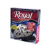 Royal Cookies & Cream Flavor Pie Filling Mix