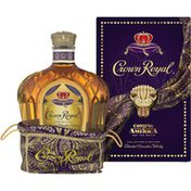 Crown Royal Fine De Luxe Blended Canadian Whisky, Coming 2 America Collector's Edition