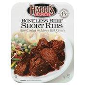 Harris Ranch Short Ribs, Boneless Beef Slow-Cooked in Honey BBQ Sauce