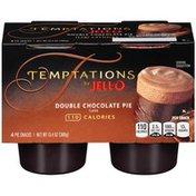 Jell-o Ready To Eat Tempatations Double Chocolate Pie Snacks