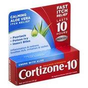 Cortizone 10 Anti-Itch Creme, Maximum Strength, with Aloe, Creme