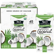 So Delicious Dairy Free Organic Unsweetened Coconutmilk