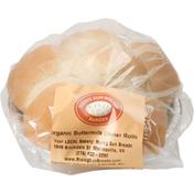 Rising Sun Breads Dinner Rolls, Organic, Buttermilk