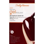 Sally Hansen Manicure Starter Kit, Gel, Wine Not 40300