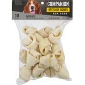 Companion Beefhide Dog Bone Treats