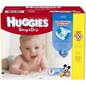 Huggies Snug & Dry Size 2 Diapers
