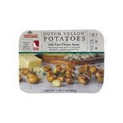 Melissa's Dutch Yellow Potatoes With Four Cheese Sauce