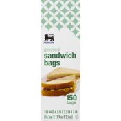 Food Lion Sandwich Bags, Pleated, Box