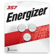 Energizer 357/303 Batteries, Button Cell Batteries