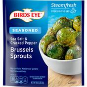 Birds Eye Brussels Sprouts, Seasoned, Sea Salt & Cracked Pepper