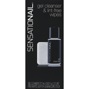 SensatioNail Gel Cleanser & Lint-Free Wipes