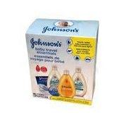 Johnson & Johnson 5-Piece Baby Travel Essentials