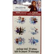 Unique Tattoos, Disney Frozen II, 4 Sheets