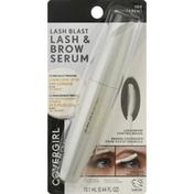 CoverGirl Lash & Brow Serum, Lash Blast, Transparent 100
