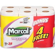 Marcal® Thick & Soft 2-Ply 360 ct Mega+ Rolls Bathroom Tissue