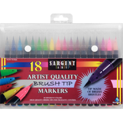 Sargent Art Markers, Brush Tip, Artist Quality, Non-Toxic