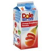 Dole 100% Juice, Orange Strawberry Banana