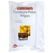 Everyday Living Furniture Polish Wipes, Lemon