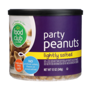 Food Club Lightly Salted Party Peanuts