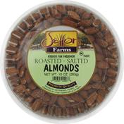 Setton Farms Almonds, Roasted, Salted