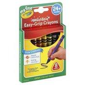 Crayola Crayons, Washable, Easy-Grip