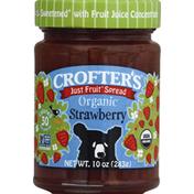 Crofter's Fruit Spread, Organic, Strawberry
